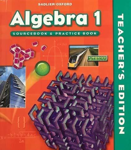 9780821582190: Sadlier-Oxford Algebra 1 Teacher's Edition