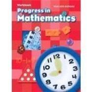 9780821582206: Progress In Mathematics workbook, grade K