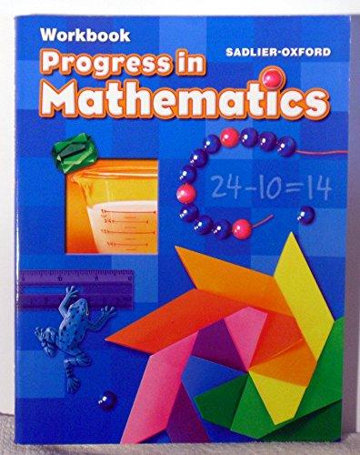 9780821582220: Progress In Mathematics, Grade 2 Workbook