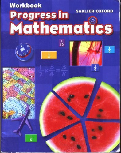 9780821582251: Progress in Mathematics workbook, grade 5