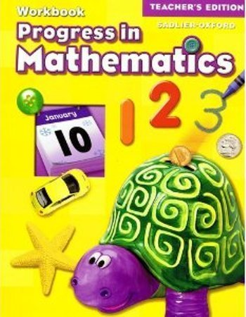 9780821582305: Progress in Mathematics Workbook, Grade K, Teacher's Edition
