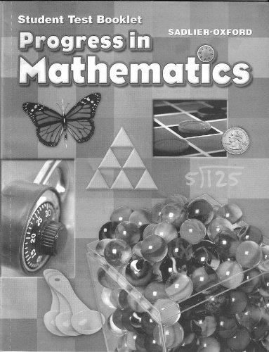 Progress in Mathematics, Grade 4: Sadlier