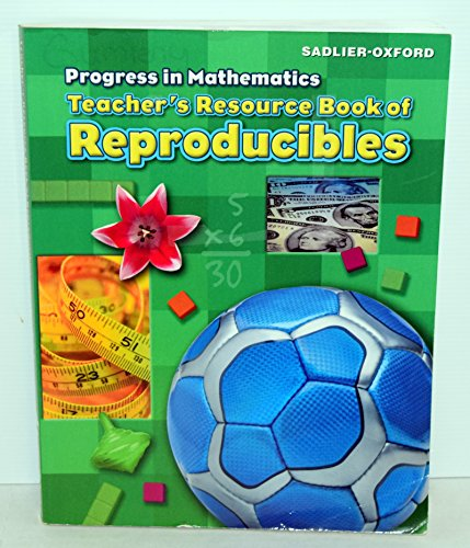 9780821582831: PROGRESS IN MATHEMATICS TEACHERS RESOURCE BOOK OF REPRODUCIBLES