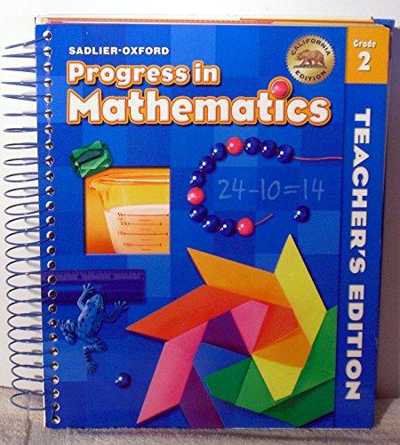 9780821583821: Progress in Mathmatics Teachers Edition Grade 2