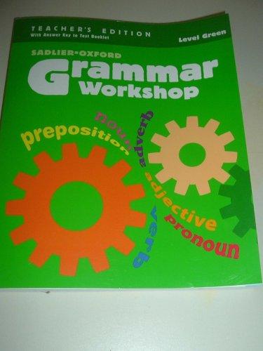 Grammar Workshop Grade 3 Level Green