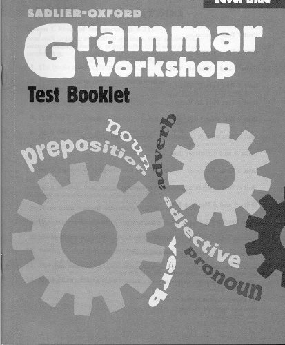 9780821584255: Grammar Workshop Level Blue Test Booklet, (Grade 5)