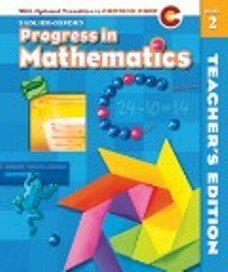 9780821584422: Sadlier-oxford Progress in Mathematics C Grade 2 Teacher's Edition with Optional Transition to Common Core 2012