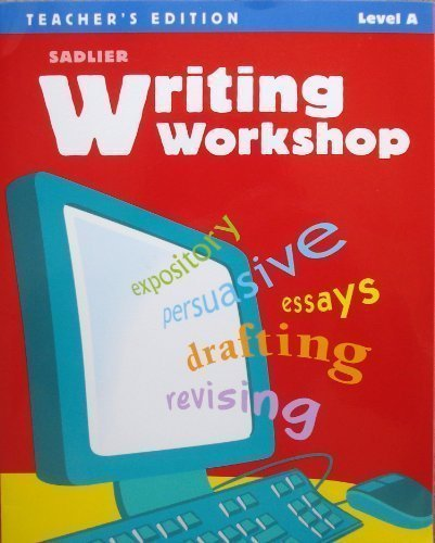 9780821585160: Writing Workshop, Teacher's Edition, Level A (Grade 6) (Sadlier Writing Workshop)