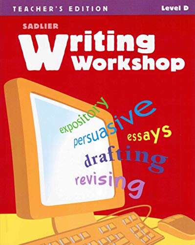 9780821585191: Writing Workshop Level D Annotated Teacher's Edition: (grade 9)