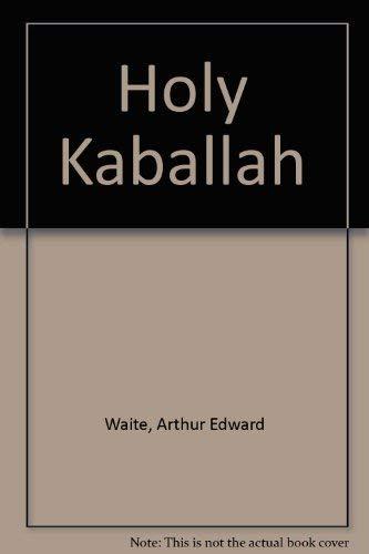 9780821600252: Holy Kaballah