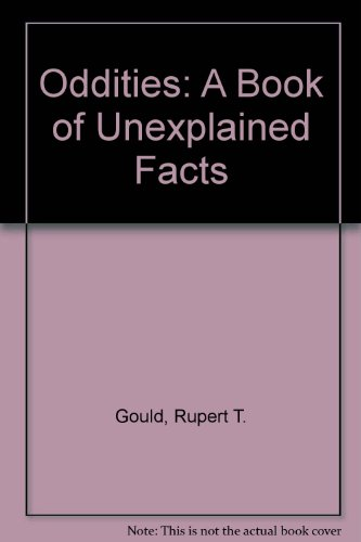 9780821601310: Oddities: A Book of Unexplained Facts