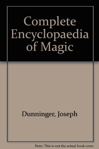 9780821601822: Dunninger's Complete Encyclopedia of Magic