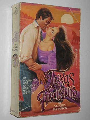Texas Treasure (0821715550) by Thompson, Victoria