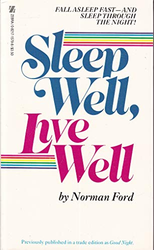 9780821715796: Sleep Well, Live Well