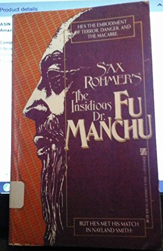 9780821716687: Sax Rohmer's the Insidious Dr. Fu Manchu