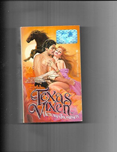 Texas Vixen (0821718231) by Thompson, Victoria