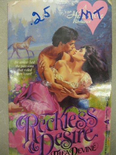 9780821722718: Reckless Desire (Heartfire Romance)