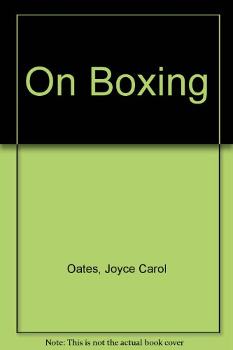 9780821723708: On Boxing
