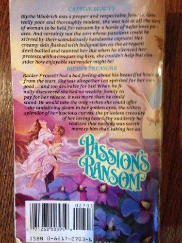 9780821727034: Passion's Ransom