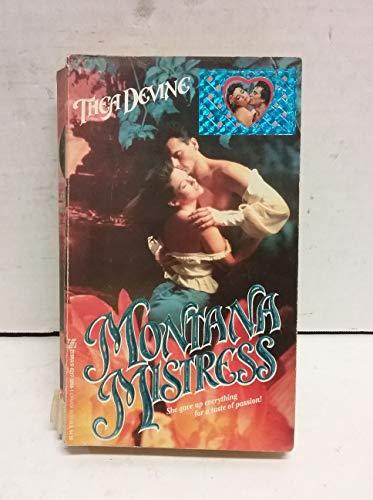 9780821730683: Montana Mistress