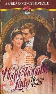 9780821731512: An Unquestionable Lady (A Zebra Regency Romance)