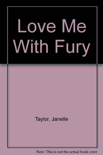 9780821733059: Love Me With Fury