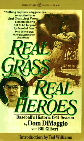 9780821734094: Real Grass, Real Heroes: Baseball's Historic 1941 Season