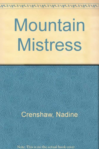 9780821738320: Mountain Mistress