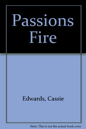 Passions Fire (0821738690) by Cassie Edwards