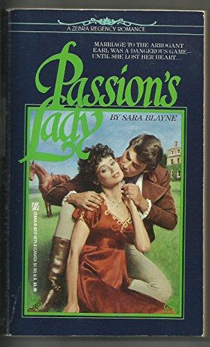 9780821741719: Passion's Lady (Regency Romance)