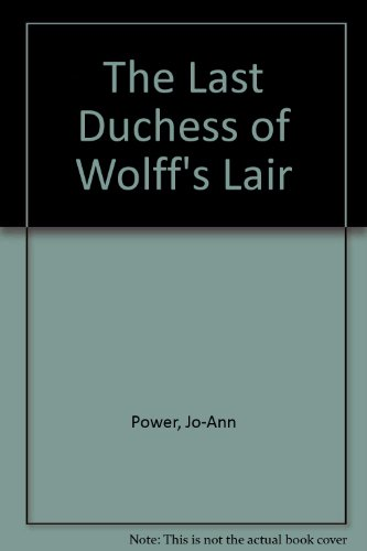 9780821742662: The Last Duchess of Wolff's Lair