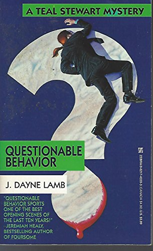 9780821743331: Questionable Behavior (A Teal Stewart Mystery)