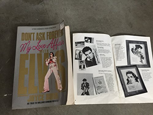 9780821746165: Don't Ask Forever: My Love Affair With Elvis: A Washington Woman's Secret Years With Elvis Presley