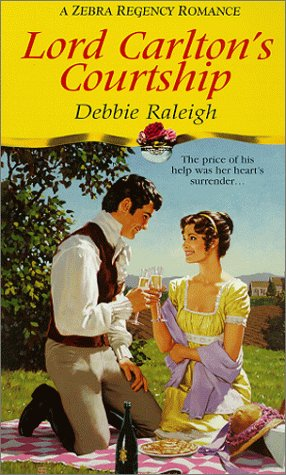 9780821764633: Lord Carlton's Courtship (Zebra Regency Romance)