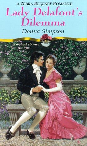 9780821766743: Lady Delafont's Dilemma (Zebra Regency Romance)