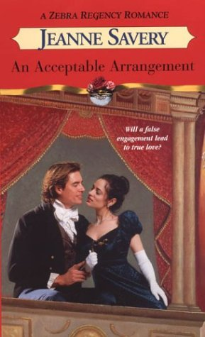AN Acceptable Arrangement (Zebra Regency Romance): Savery, Jeanne