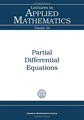 9780821800492: Partial Differential Equations (Lectures in Applied Mathematics)