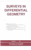 Surveys in Differential Geometry: Proceedings of the Conference on Geometry and Topology Held at Harvard University, April 27-29, 1990 (Supplement to the Journal of Differential Geometry, No. 1) (0821801686) by Chuan-Chih Hsiung; Shing-Tung Yau