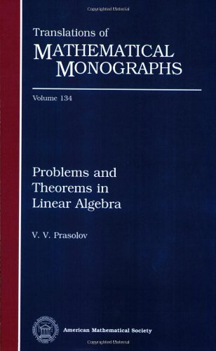 9780821802366: Problems and Theorems in Linear Algebra (Translations of Mathematical Monographs, Vol. 134)