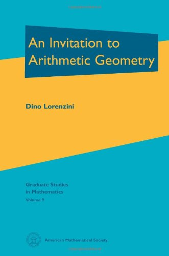 9780821802670: An Invitation to Arithmetic Geometry (Graduate Studies in Mathematics, Vol 9) GSM/9