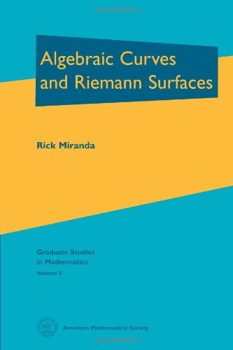 9780821802687: Algebraic Curves and Riemann Surfaces (Graduate Studies in Mathematics)