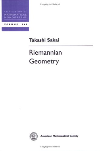 9780821802847: Riemannian Geometry (Translations of Mathematical Monographs)
