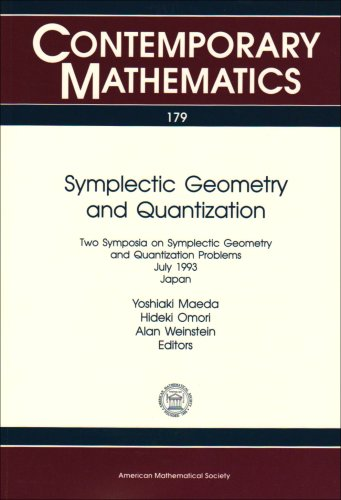 Symplectic Geometry and Quantization: Two Symposia on: Japan) Taniguchi International