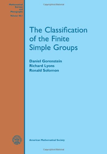 9780821803349: The Classification of the Finite Simple Groups: 40