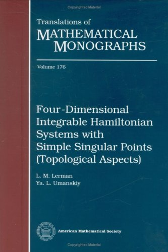 9780821803752: Four-dimensional Integrable Hamiltonian Systems with Critical Points (Translations of Mathematical Monographs)