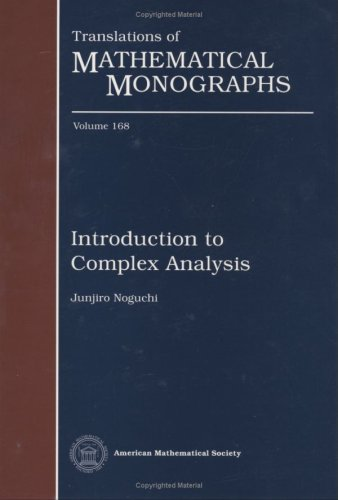 9780821803776: Introduction to Complex Analysis (Translations of Mathematical Monographs)