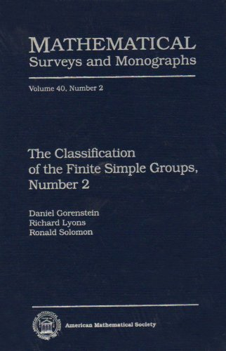 9780821803905: The Classification of the Finite Simple Groups, Number 2 (Mathematical Surveys and Monographs)