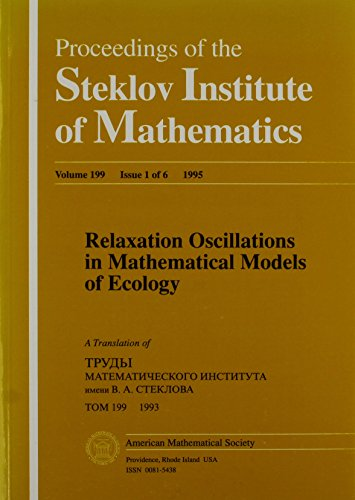9780821804100: Relaxation Oscillations in Mathematical Models of Ecology (Proceedings of the Steklov Institute of Mathematics S)