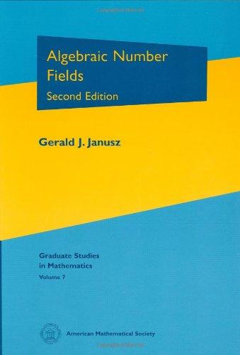9780821804292: Algebraic Number Fields (Graduate Studies in Mathematics)