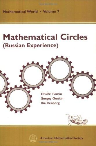9780821804308: Mathematical Circles: Russian Experience (Mathematical World, Vol. 7)